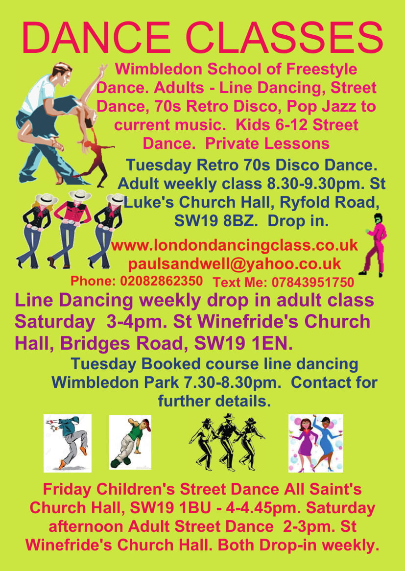 Colliers Wood dance class